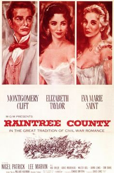 Raintree County...not quite the calibre of GWTW they hoped...but still impressive...