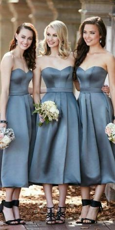 c9c2854d4 Simple Sweetheart Short Bridesmaid Dress Custom Made Fashion Satin A-Line  Wedding Party Dresses BD046