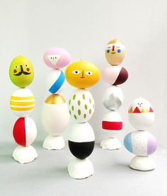 Easter Egg Mix & Match Sculptures