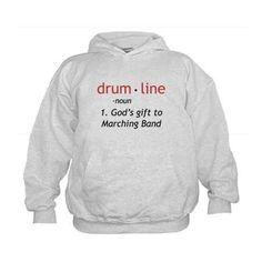 Definition of Drumline Kids Hoodie