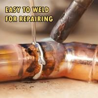 Introducing The Simplest Way To Weld Aluminum Parts – No More Expensive Equipment Required! All You Need are some Easy Melt Welding Rods. No fluxes / fumes req Aluminum Welding Rods, Aluminum Boat, Metal Welding, Welding Tools, Arc Welding, Diy Tools, Aluminum Fabrication, Fabrication Tools, Baguette