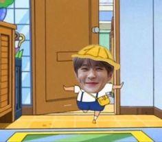 Nct 127, Meme Faces, Funny Faces, All Meme, Funny Kpop Memes, Jung Jaehyun, Jaehyun Nct, Reaction Pictures, K Idols