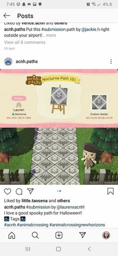 Animal Crossing Guide, Animal Crossing Villagers, Animal Crossing Qr Codes Clothes, Halloween Design, Halloween Town, Path Design, Design Ideas, Scary Animals, Decorating Bookshelves