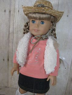 18 inch Doll Clothes American Girl Cowgirl Boot by nayasdesigns, $32.00