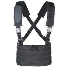 Voodoo Tactical 20-0010 Mobile MOLLE Chest Rig, Black by VooDoo Tactical. $39.95