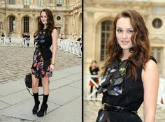 Looking Foxy: Leighton Meester in Louis Vuitton - Best Dressed ...