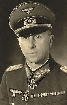 Wehrmacht General Kurt Versock - 31'st infantry regiment, 24 infantry division , 43 Army corps