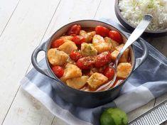 ViktVäktarna Torsk i röd curry Vegan Chili, Beef Wellington, Sous Vide, Muesli, Kung Pao Chicken, Lchf, Fruit Salad, Potato Salad, Curry