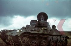 Russia T60 Panzer tank light Russian front captured destroyed 1943