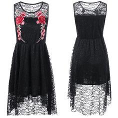 Elegáns ruhák és felsők | Toullan Rose ruha | Trend Store Ruha rendelés
