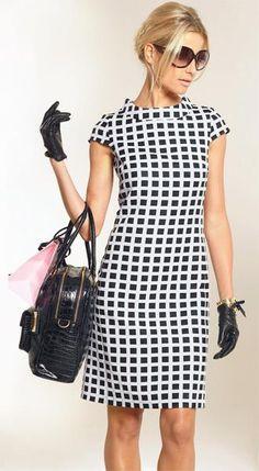 Apart платье в клеточку