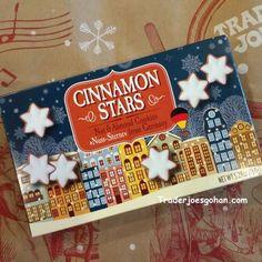 Trader Joe's Cinnamon Stars $2.99 #Trader Joes #Cinnamon #Stars #cookies #cookie