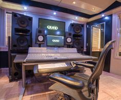 Graduating from the Conservatory of Recording Arts and Sciences I eventually landed a job at Quad Recording Studios. This is a depiction of Studio D, which is the same studio room where I actually recorded J. Cole, who is a National Recording Artist for Roc nation owned by Jay-Z.