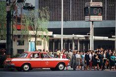 騒音表示機(東京・渋谷)   撮影日:1967年11月
