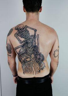 Tattoo by Maxime Plescia-Büchi