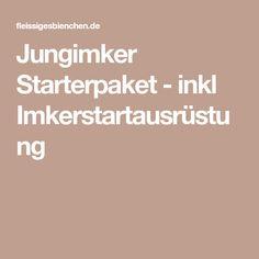 Jungimker Starterpaket - inkl Imkerstartausrüstung