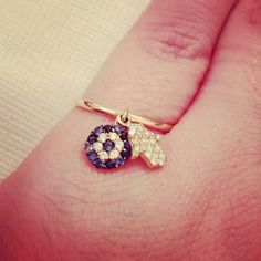 #Tohfah my design ,Gold #ring with diamonds
