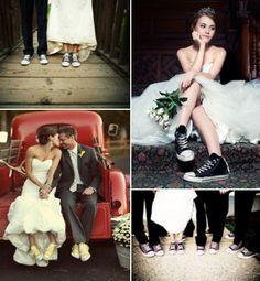 #brides #Converse #sneackers: