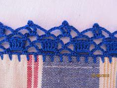 Learn to Crochet – Crochet Wave Fan Edging. Crochet Boarders, Crochet Edging Patterns, Crochet Lace Edging, Unique Crochet, Filet Crochet, Crochet Designs, Crochet Flowers, Crochet Stitches, Knitting Patterns