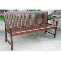 Have to have it. Hudson Acacia 3 Seater Outdoor Park Bench - $299.99 @hayneedle