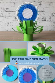 Kwiatki na Dzień Matki #DzieńMatki #kwiaty Fun Crafts For Kids, Art For Kids, Diy And Crafts, Cool Kids, Most Beautiful Pictures, Origami, Told You So, Presents, Jar