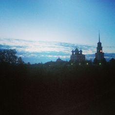 Рассвет. Очередной рассвет.  #рязань #rzn #рассвет #природа