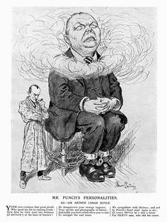 Father and Son - Sherlock Holmes & Arthur Conan-Doyle -  Punch Magazine, 1926.05.12