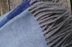 Merino prehoz / deka – modrá | PODDEKOU Blankets, Blanket, Cover, Comforters