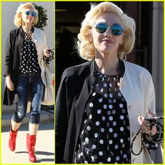 Gwen Stefani Ends Holiday Weekend at Church With Her Boys