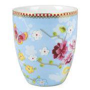 Pip Studio - Chinese Rose Milk Mug - Blue