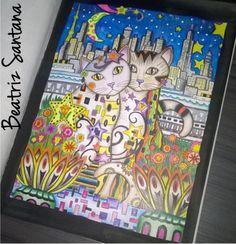 Inspirational Coloring Pages por Beatriz Santana #inspiração #coloringbooks…