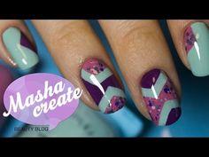 КОНКУРС от AVON! Геометрический дизайн ногтей лаком. Летний маникюр лаком для ногтей Avon. - YouTube