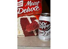 dr pepper cake... weight watchers style.  the icing is cheesecake pudding and cool whip!