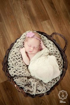 Baby Hairband for Newborn pictures -  FREE SHIPPING  Photo Photography Prop Gift idea. $14.00, via Etsy.