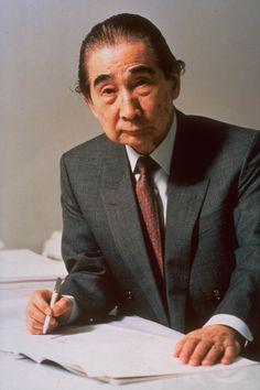 Kenzo Tange (1987 winner)