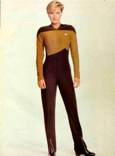Denise Crosby as Tasha Yar from Star Trek: the Next Generation. See what I mean?
