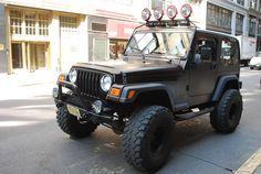 Matte Black Wrap Matte Black Wrap Jeepster 2 Door Jeep