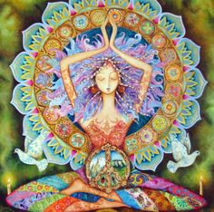 I AM a goddess of Love, Light, and Life. I create my reality according to what I need within to assist me in evolving into the spiritual warrior goddess I AM destined to be. I am NOT my fears, I am NOT my pain, I am not even my own body... We are ALL One. One spirit, One Light, One Love.♥