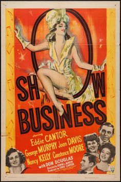 """Movie Posters:Musical, Show Business (RKO, 1944). One Sheet (27"""" X 41""""). Musical.. ... Image #1"""