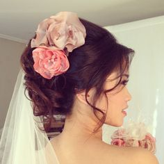 Anna Poshe` Bridal hair and makeup style