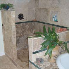 Shower renovation - walk in shower