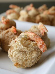Deep Fried Taro Ball with Shrimp (炸芋頭蝦球) | Lama Kitchen - Drive Your Passion for Food | A Food & Cooking Blog