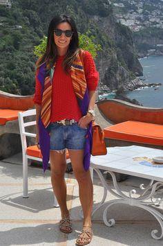 Blog da Maria Sophia │ Lifestyle and Fashion: Look do dia- Costa Amalfitana