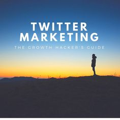 This is the Ultimate Growth Hackers Guide to Twitter Marketing. 7 Chapters of Growth Hacking Tips to utilize Twitter Marketing strategies to grow your business or startup.