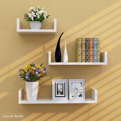 Home Decor Shelves, Wall Shelf Decor, Wall Shelves Design, Bookshelf Design, Shelf Display, Floating Shelves Bedroom, Floating Bookshelves, Decorative Wall Shelves, Bedroom Wall Shelves