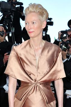 Cannes Watch: Tilda Swinton in Haider Ackermann | Tom & Lorenzo Fabulous & Opinionated