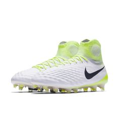 2e7c806d12d73 Nike Magista Obra II Firm-Ground Soccer Cleats Size 11.5 (White) -  Clearance Sale
