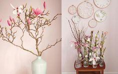 Forår på spring: Indret med blomstrende grene