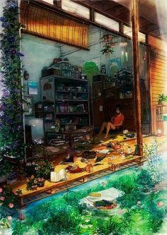 Animation, Concept Art, Models Sheets, etc. usuarios online All works published… Fantasy Landscape, Fantasy Art, Manga Art, Anime Art, Anime Body, Anime Pokemon, Anime Triste, Anime Kunst, Anime Scenery