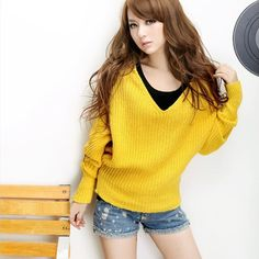 2012 Fall New Arrival Women's Fashion Candy Color Hooded knitted Loose Batwing